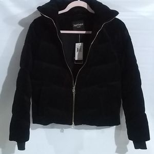 Juicy Couture Black Label Quilted Puffer Sz S NWT